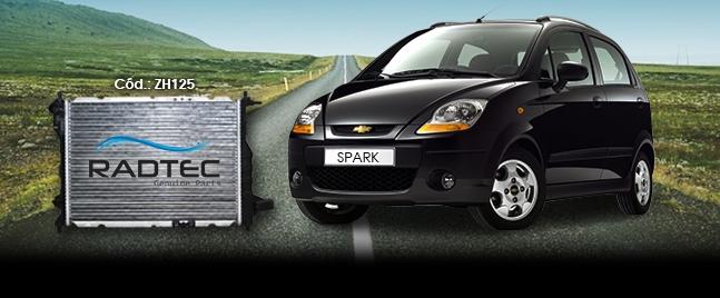 Radiador Chevrolet Spark Nafta C/A.A.